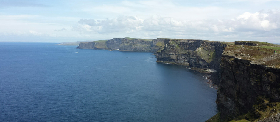 the cliffs of moher and the wild atlantic way
