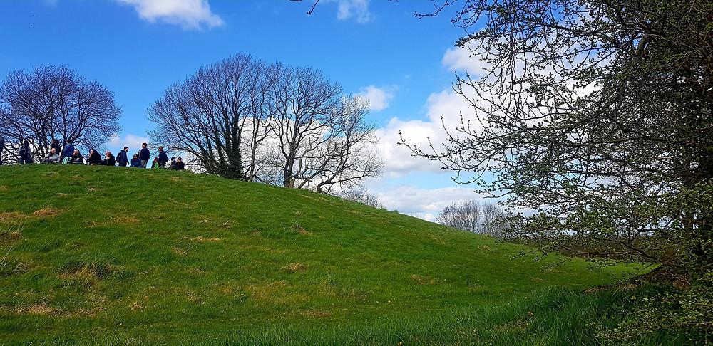 The large mound 2 at Emain Macha. www.aliisaacstoryteller.com