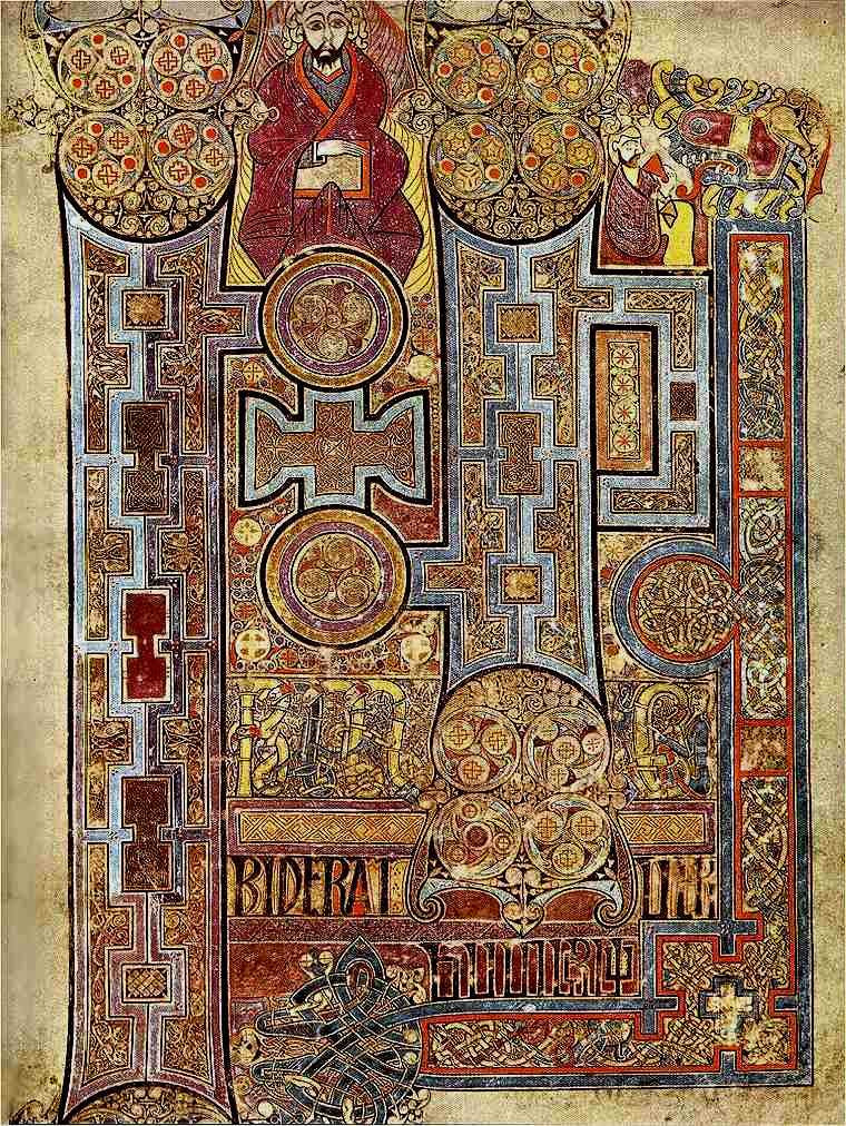 page from book of kells