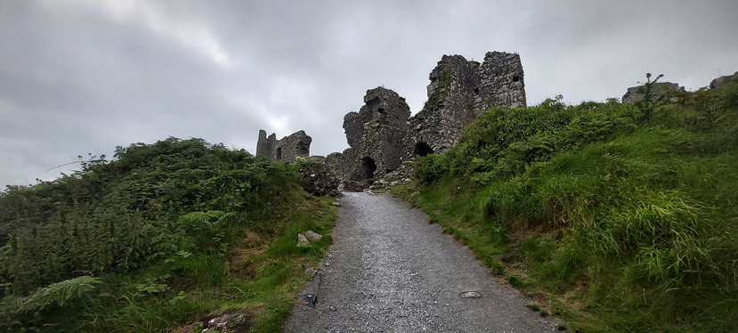 View of the keep from the gate
