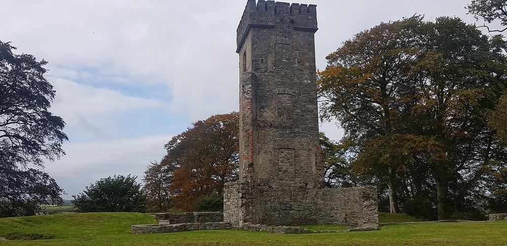 The remains of Byrne's Folly at Dún Dealgan, Cuchulainn's Fort, Dundalk.