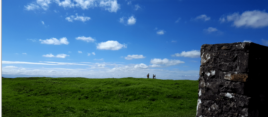 Walking the Ceremonial Path at the Hill of Tara