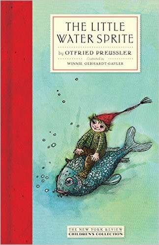 Cover of 'The Little Water Sprite' by Ottfried Preussler, which inspired this poem.