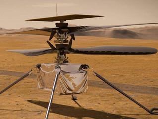 Drones en Marte