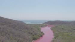 Laguna Coyula y el Mar