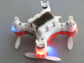Mini drones + inteligencia artificial, ¿las abejas del futuro?