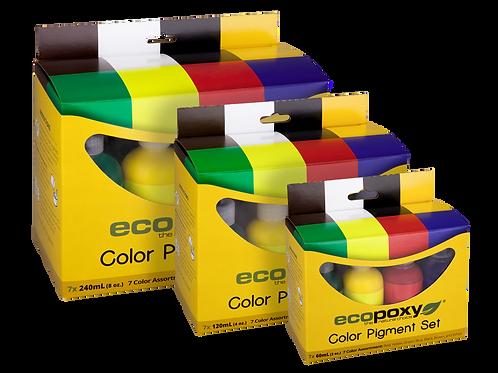 7 Color Pigment Kits