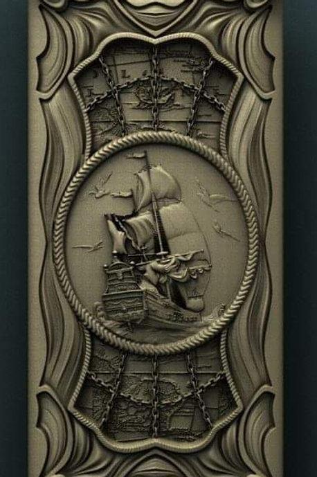 Ship Scroll