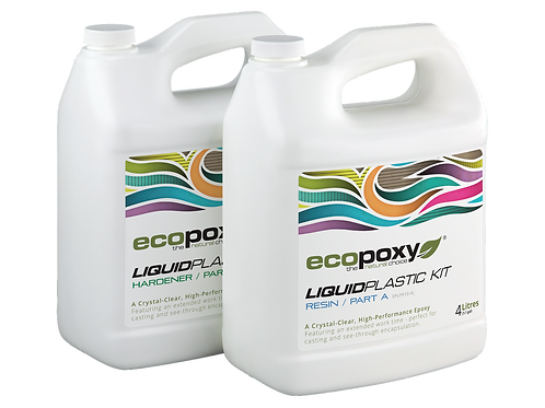 Ecopoxy Liquid Plastic Kit 1:1