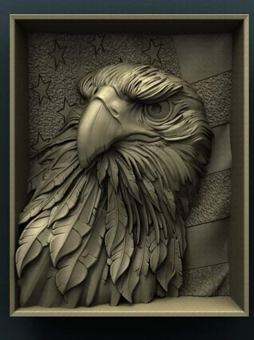 Bald Eagle Motif
