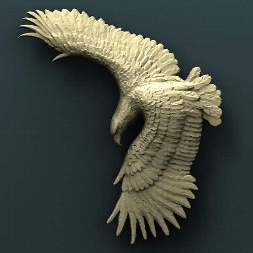 Eagle Soaring Figure