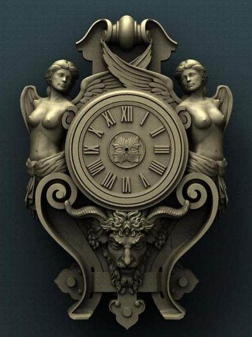 Baroque Clock Face