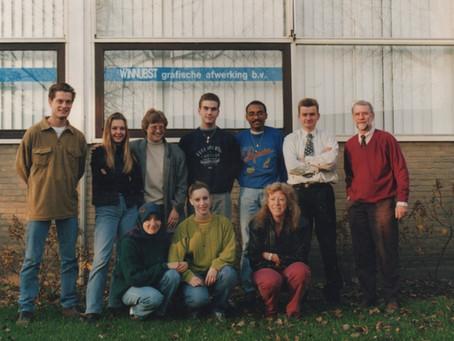 Albert 25 jaar bij Winnubst