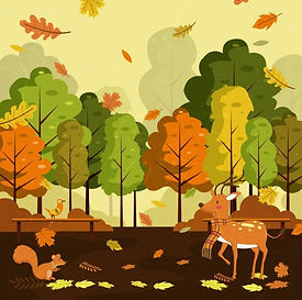 autumn_landscape_drawing_falling_leaves_reindeers_icons_decor_6833987.jpg