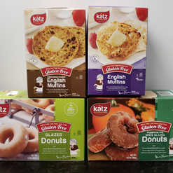 Katz Gluten Free Donuts & English Muffins