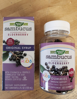Natures Way Elderberry Syrup & Gummies for Kids