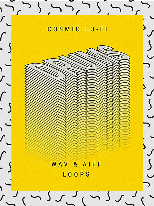 Cosmic Lo-Fi Drums - Wav & Aiff Loops