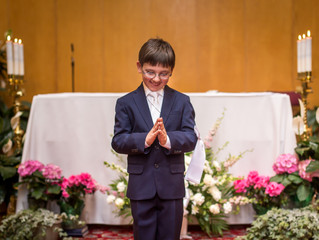 First Communion and a Favorite Celebration