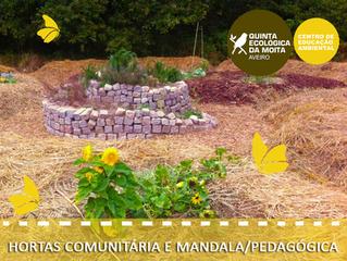 Hortas Comunitária e Mandala/Pedagógica