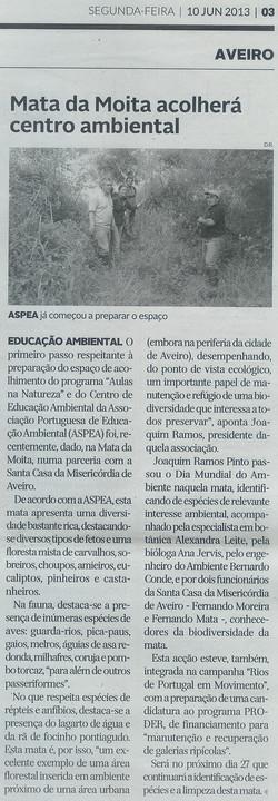 2013-06-10_Notícia_Mata_da_Moita_e_ASPEA_Diário_de_Aveiro