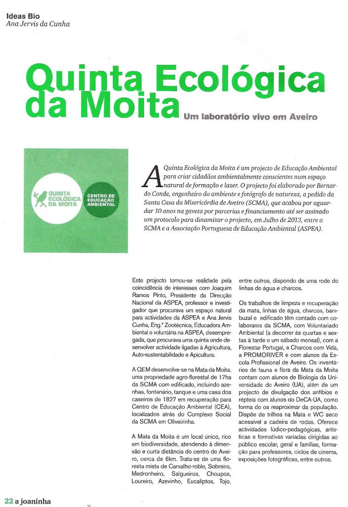 Artigo Ideias Bio A Joaninha Agrobio pag 22_QEM_Maio2014