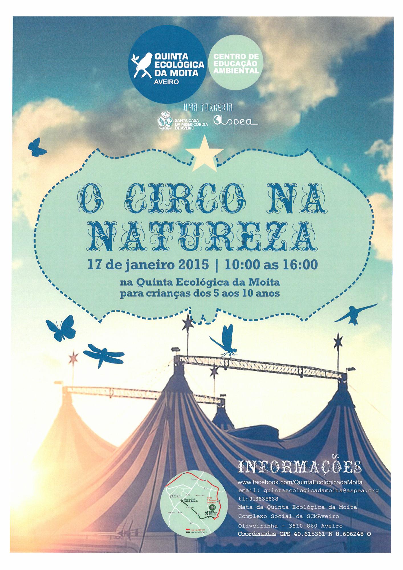 QEM - O circo na natureza