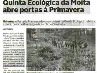 A Quinta Ecológica da Moita nos media!