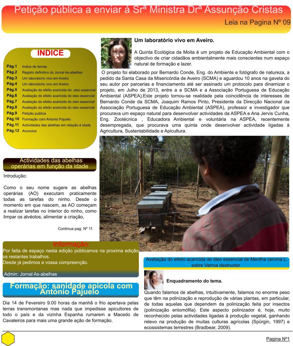 2014-02-28_Jornal As Abelhas_QEM_Fev2014_pag1