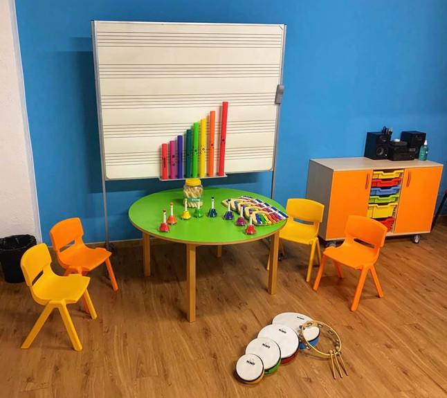 Comença l'activitat a l'escola de música