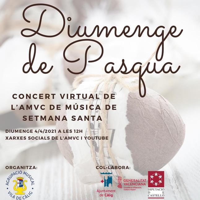 CONCERT VIRTUAL DE L'AMVC DE SETMANA SANTA
