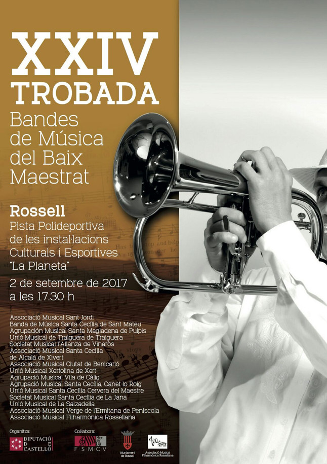 Trobada de bandes de música del Baix Maestrat 2017