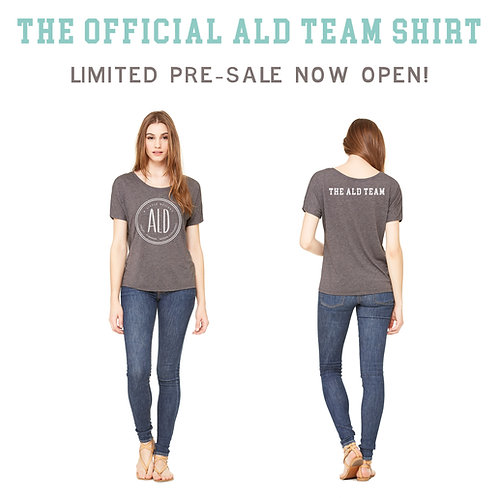 Limited Edition Official ALD Team Shirt