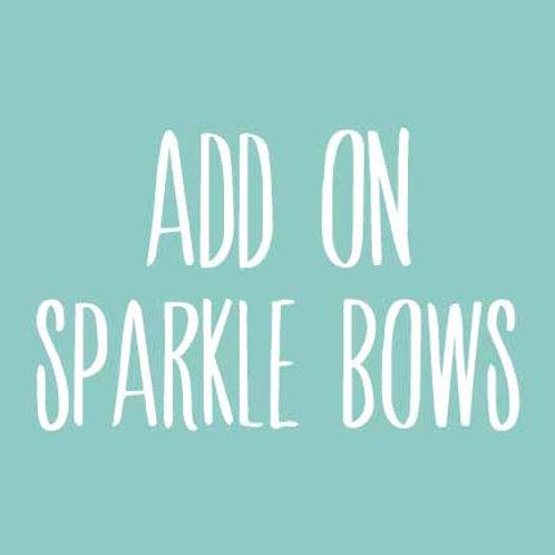 25 Sparkle Bow Sets