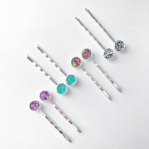 Sparkle Bobby Pin Sets - 10 Sets of 2