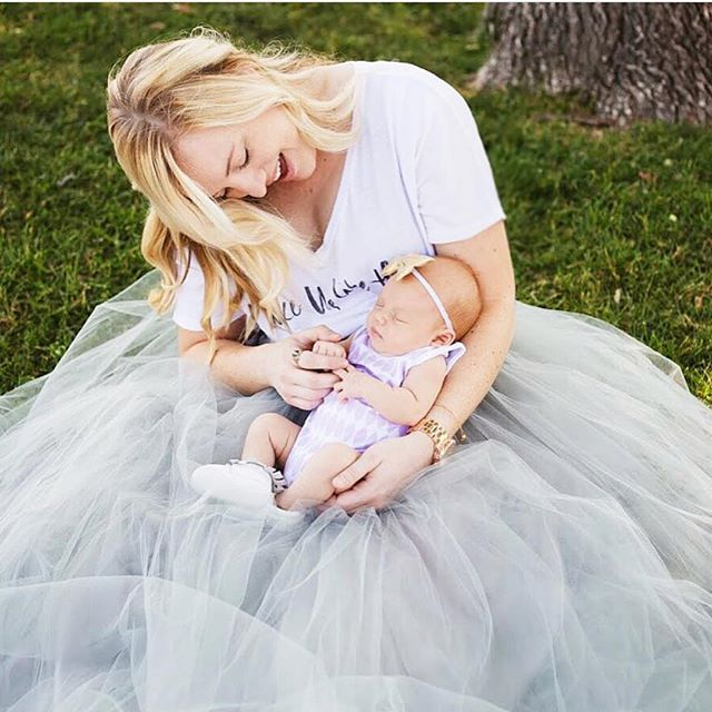 #TBT to this gorgeous momma and baby girl! 😍_📷_ _positivelyoakes 💜