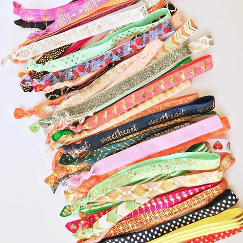 50 One-size Elastic Headbands