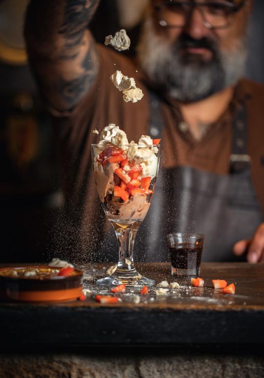Ice-Cream and Suisse Meringue