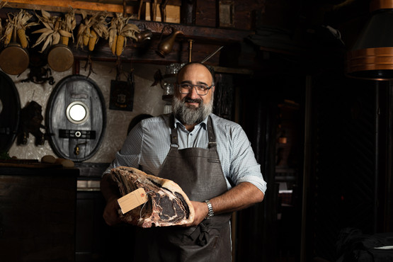 Massimo and Dry Aged Meat