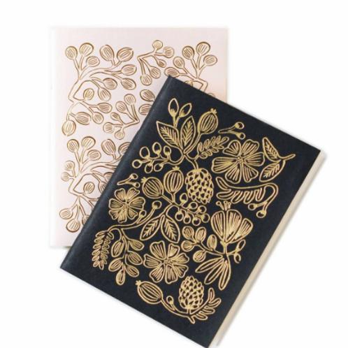 Gold Foil Notebook Set