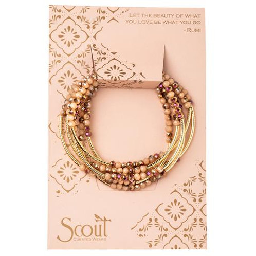 Scout Wrap Bracelet/necklace