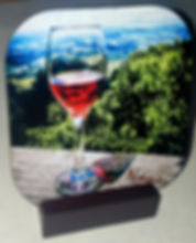 red wine glass coaster in stand.jpg