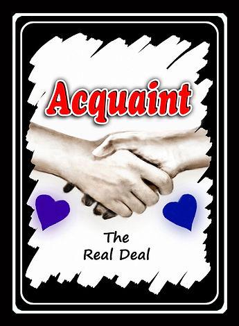Acquaint Card Game