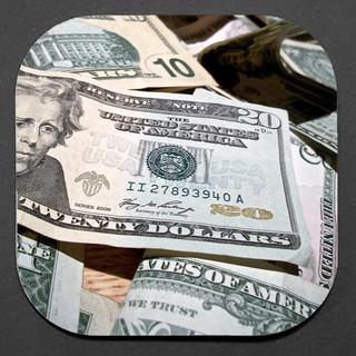 CASH MONEY 4-COASTER SET