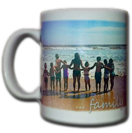 FAMILY BEACH COFFEE MUG