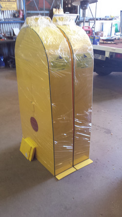 Fab - Poly Belt & Coupling Guards ready for Delivery
