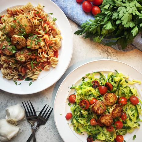 Scallop Zoodle Pasta
