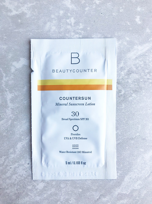 Countersun Mineral Sunscreen SPF30 Sample