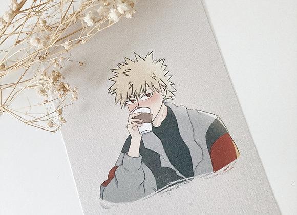 Bakugou | coffee print