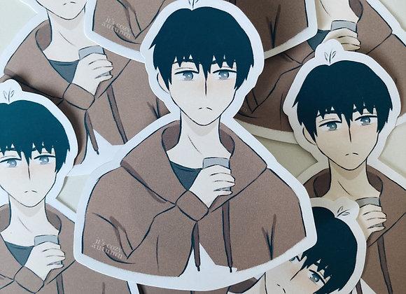 Cozy in home | daisuke sticker
