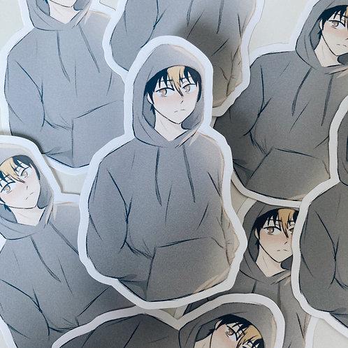 Noya-san // haikyuu sticker